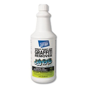 Lift-Off #4 - Spray Paint Graffiti Remover, 6-32oz Bottles (MOT41103)