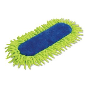 Quickie Swivel Soft Dust Mop Refill, Microfiber/Chenille, Yellow (QCK604ZQK)