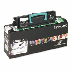 Lexmark 34015HA High-Yield Toner, 6000 Page-Yield, Black (LEX34015HA)