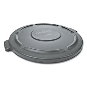 Rubbermaid 263100 Brute 32 Gallon Round Trash Can Lid, Gray (RCP263100GY)