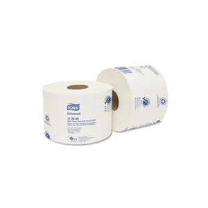 Tork Universal Bath Tissue Roll, OptiCore, 1-Ply, 36 Rolls (TRK112990)