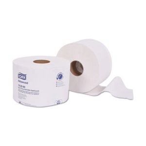 Tork Advanced Bath Tissue Roll with OptiCore, 2-Ply, White, 36 Rolls (TRK162090)