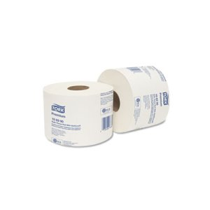 Tork Premium Bath Tissue Roll with OptiCore, 2-Ply, White, 36 Rolls (TRK106390)