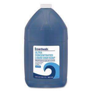 Boardwalk Ultra Concentrated Liquid Dish Soap, Clean, 1 gal (BWK74128EA)