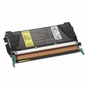Lexmark C5340YX High-Yield Toner, 10000 Page-Yield, Yellow (LEXC5340YX)