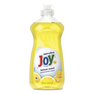 Joy Dishwashing Liquid, Lemon, 12.6 oz Bottle, 12/Carton (PBC81209)