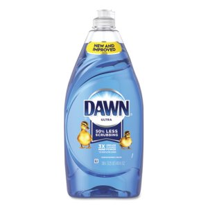 Ultra Liquid Dish Detergent, Dawn Original, 40 oz Bottle, 8/Carton (PGC91064)