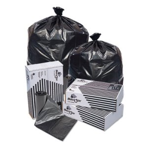 Pit Plastics Black Star Low-Density Garbage Bags, 24x32, 500 Bags (PITB73310XK)