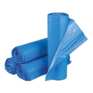 Inteplast Group High-Density Trash Bags, 30 x 43, 250 Bags (IBSBRS304314BL)