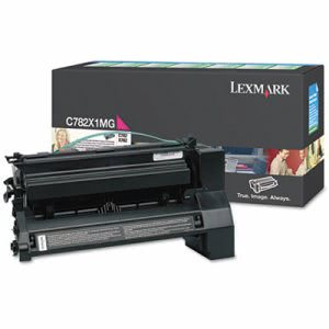 Lexmark C782X1MG Extra High-Yield Toner, 15000 Page-Yield, Magenta (LEXC782X1MG)