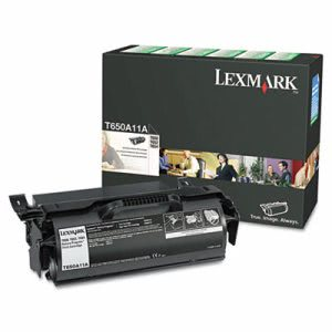 Lexmark T650A11A Toner Cartridge, 7000 Page-Yield, Black (LEXT650A11A)