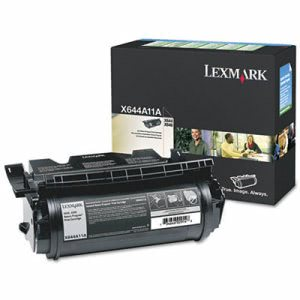 Lexmark X644A11A Return Program Toner, 10000 Page-Yield, Black (LEXX644A11A)