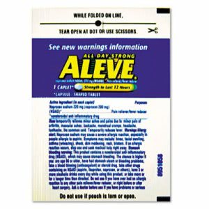 Aleve Pain Reliever Tablets Refill Packs, 30 Packs/Box (LIL51030)