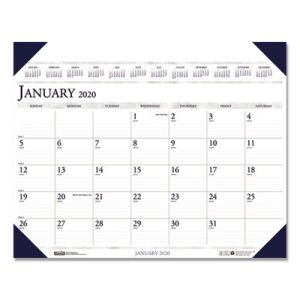 Doolittle Executive Monthly Desk Pad Calendar, 24 x 19, 2021 (HOD180HD)