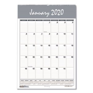 Doolittle Wirebound Monthly Wall Calendar, 12 x 17, Bar Harbor, 2020 (HOD332)