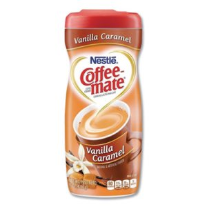 Coffee-mate Vanilla Carmel Powdered Creamer, 15-oz, 6 Canisters (NES49410CT)
