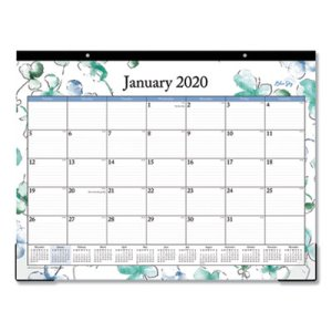 Blue Sky Lindley Desk Pad, 17 x 11, Clear Corners, 2020 (BLS100024)