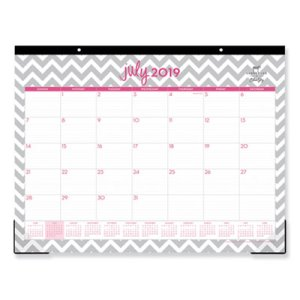 Blue Sky Dabney Lee Ollie Academic Year Desk Pad, 2019-2020 (BLS100295)