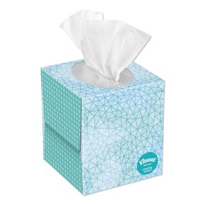 Kleenex Cool Touch Facial Tissue, 2-Ply, 45 Sheets (KCC50140BX)