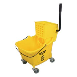 Impact Side-Press Wringer/Plastic Bucket Combo, Yellow, Each (IMP7Y26363Y)