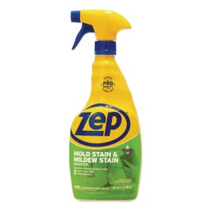 Zep Mold/Mildew Stain Remover, 32 oz Spray Bottle, 12 Bottles (ZPEZUMILDEW32CT)