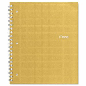 Mead Recycled Notebook, 8 1/2 x 11, 80 Sheets, College, Assorted (MEA06594)