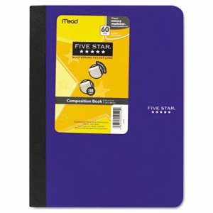 Mead Composition Book, College Rule, 1 Subject 100 Sheets, Assorted (MEA09120)