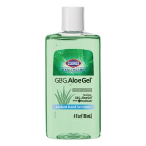 Clorox Healthcare GBG AloeGel Instant Hand Sanitizer, 4 oz Bottle, 24/Carton (CLO32374)