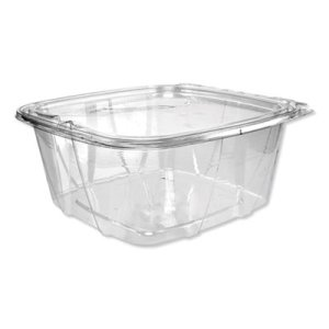 Dart SafeSeal Deli Containers w/ Flat Lid, 64 oz, 200 Containers (DCCCH64DEF)