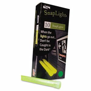 "Miller's Creek Snaplights, 6""l x 3/4""w, Green, 10/Pack (MLE151848)"