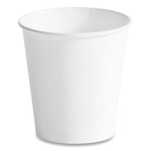 Huhtamaki Single Wall Hot Cups, 10 oz, White, 1,000/Carton (HUH62901)
