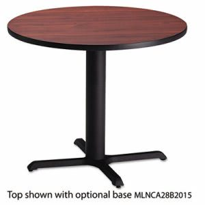 "Mayline Bistro Series 30"" Round Laminate Table Top, Mahogany (MLNCA30RTRMH)"
