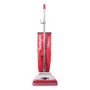 Sanitaire TRADITION Upright Vacuum with Shake-Out Bag, 17.5 lb, Red (EURSC886G)
