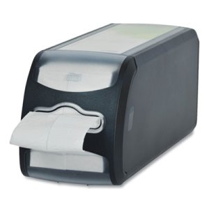 Tork Xpressnap Fit® Napkin Dispenser, Countertop, 4.8 x 12.8 x 5.6, Black (TRK7432000)