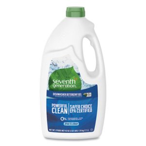 Seventh Generation Natural Dishwasher Gel, 42 oz, 6 Bottles (SEV22170CT)