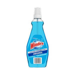 Windex Glass and Multi-Purpose Cleaner, 12 Pump Spray Bottles (SJN060123)