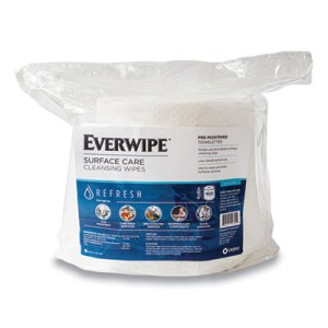 EverWipe Surface Care Wipes, Cleans & Fights Germs, 900/Roll, 4 Rolls (GN111100)