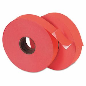 Monarch Pricemarker 1156 One-Line Labels, 3/4 x 1-1/4, Fluorescent Red, 2 Rolls/Pack (MNK925561)