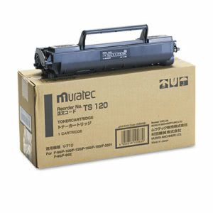 Muratec TS120 Toner, 5500 Page-Yield, Black (MURTS120)