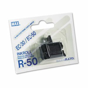 Max R50 Replacement Ink Roller, Black (MXBR50)