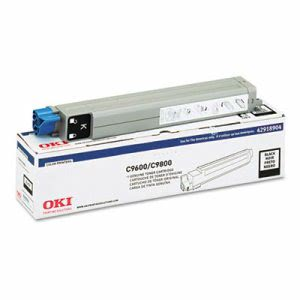Oki 42918904 Toner (Type C7), 15000 Page-Yield, Black (OKI42918904)