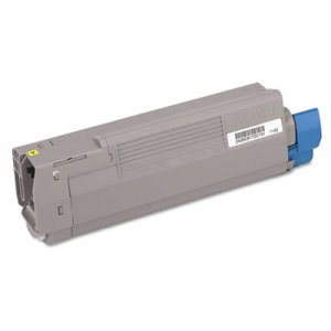 Oki 43381901 Toner (Type C8), 2000 Page-Yield, Yellow (OKI43381901)