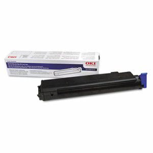 Oki 43979101 Toner, 3500 Page-Yield, Black, Each (OKI43979101)