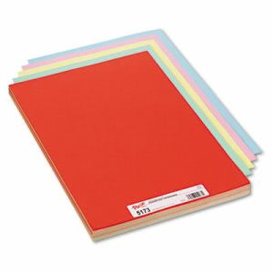 Pacon Assorted Colors Tagboard, 18 x 12, 100 Sheets (PAC5173)