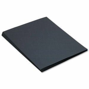 Sunworks Construction Paper, 58 lbs., 18 x 24, Black, 50 Sheets/Pack (PAC6317)