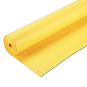 "Pacon ArtKraft Duo-Finish Paper, 48 lbs., 48"" x 200 ft, Canary Yellow (PAC67084)"