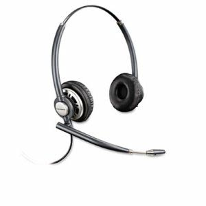 Plantronics Over-the-Head Headset w/Noise Canceling Microphone (PLNHW720)