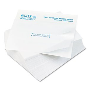 Pm Company Postage Meter Double Tape Sheets, 4 x 5-1/2, 300/Pack (PMC05204)