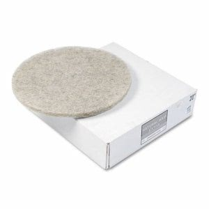 "20"" Natural Hair Extra Pads, Ultra High-Speed Floor Pads (PAD 4020 NHE)"