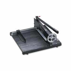 "Premier Commercial Paper Cutter, 200 Sheets, Wood Base, 16"" x 20"" (PRE7000E)"